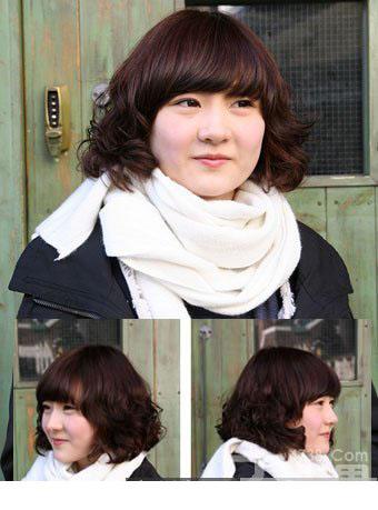 胖脸适合什么发型 最适合胖脸女生荷叶头发型图