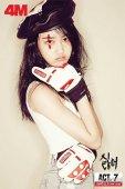 韩国女子组合4minute拍写真秀性感魅力