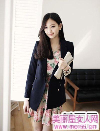时尚西装多种风格穿出魅力