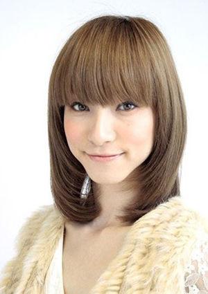 秋日六款顺滑直发 东方美女最佳发型