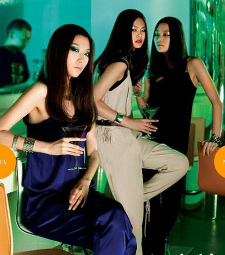 暗夜激情 时髦着装争做派对女王